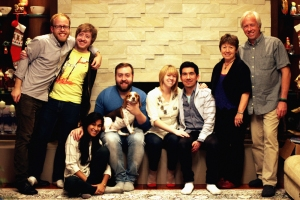 Nick Weidner, Matt Weidner, Shivali Patel, Alex Weidner, Elyse Weidner, Adrian Andrade, Me, Ronald Weidner