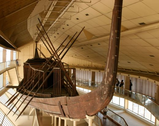 Khufu Ship Great Pyramid