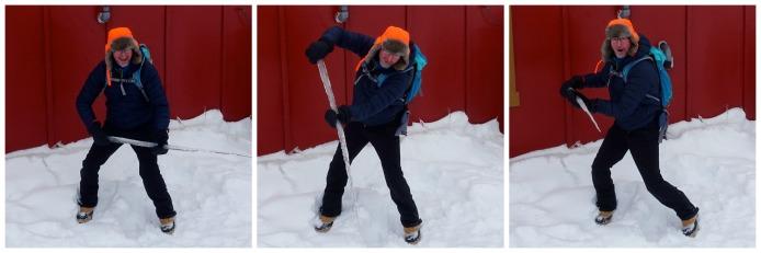 DAMIAN Ice hunter